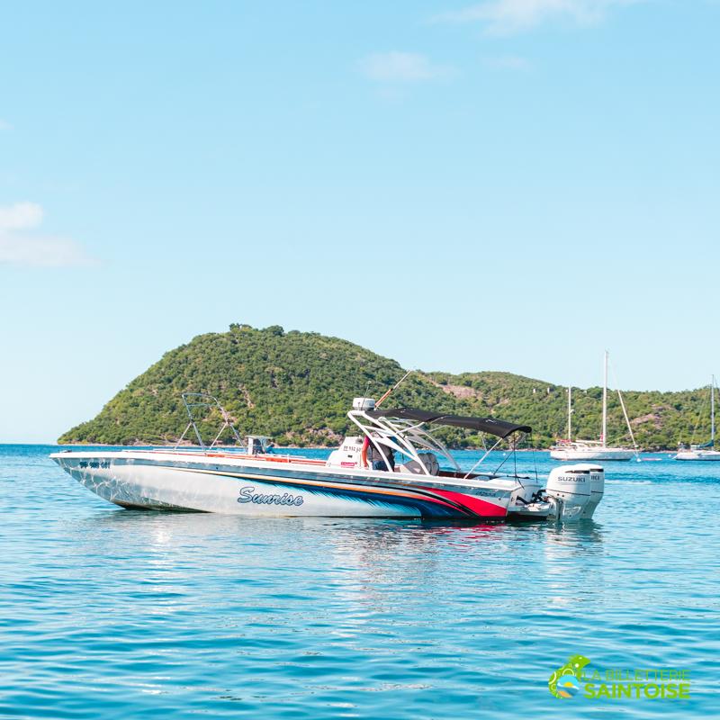 Bateau luxe pour la visite de la Baie