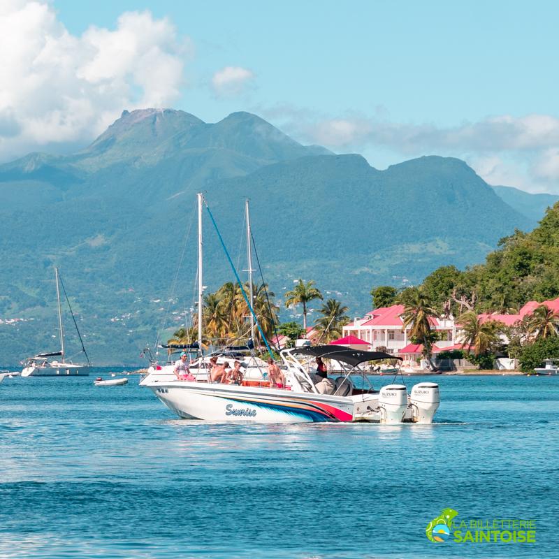 Excursion en bateau et visite guidée